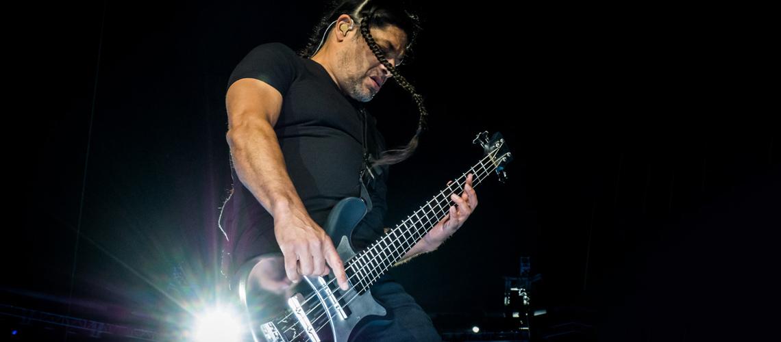 Robert Trujillo confirma que os Metallica estão a aproveitar a paragem forçada para compor novo álbum