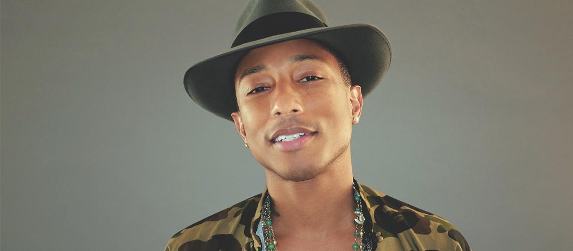 """""""Voices of Fire"""": Pharrell Williams será a estrela de uma nova série da Netflix"""