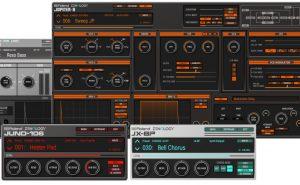 Poderosos, intuitivos, clássicos: Roland arrasa com 4 Synths em versão plugin