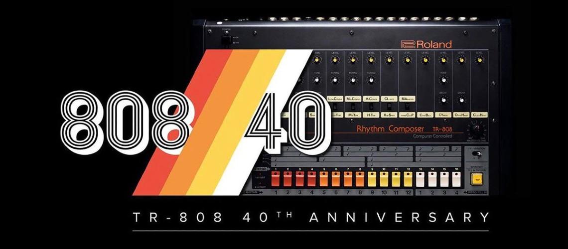 Roland TR-808: 40 anos de vida, beats… e muitos sons para descarregar