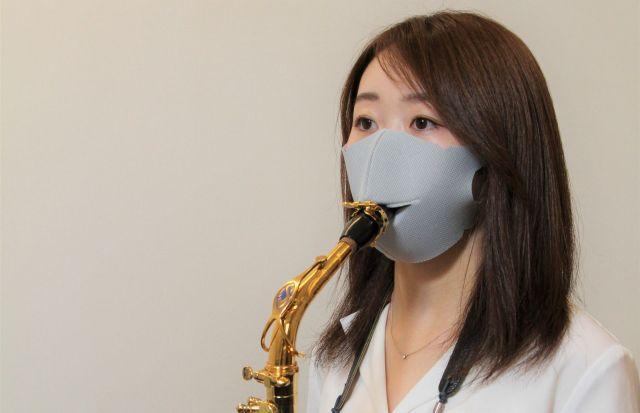 Primeira máscara facial para músicos chega do Japão