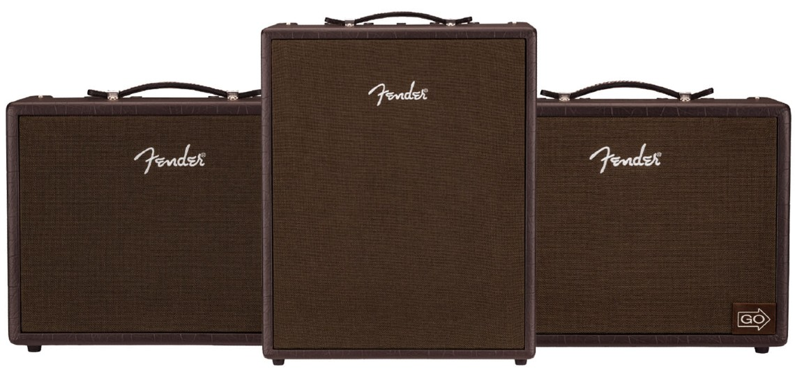 Novos Amps Tone Master & Acoustic na Fender
