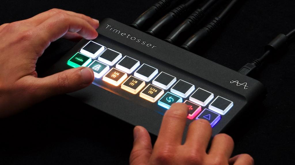 Timetosser: Hardware Para Looping E DJing Em Tempo Real