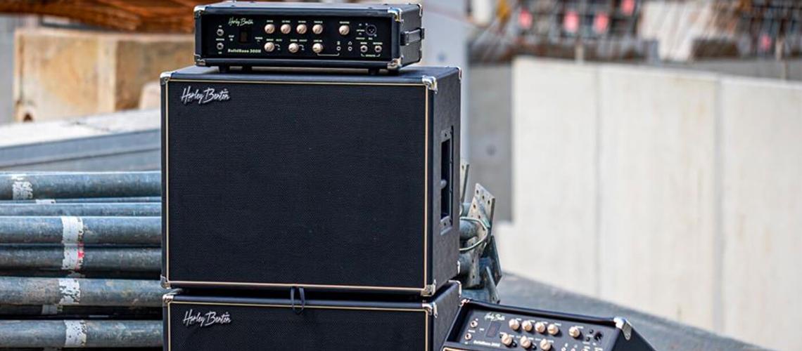 SolidBass: a nova linha de amps de baixo da Harley Benton