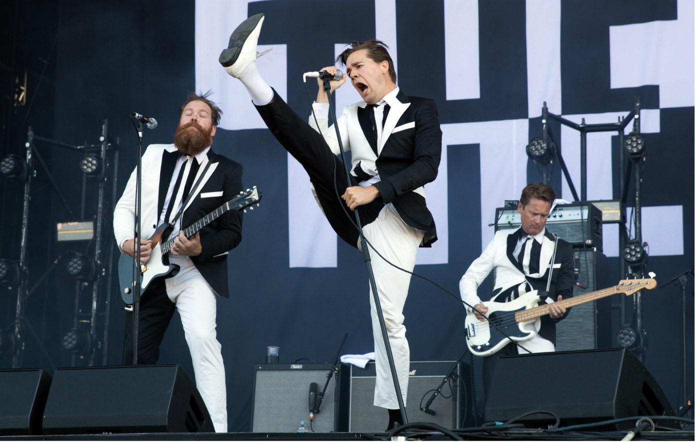 The Hives partilham tema ao vivo de EP quase a chegar