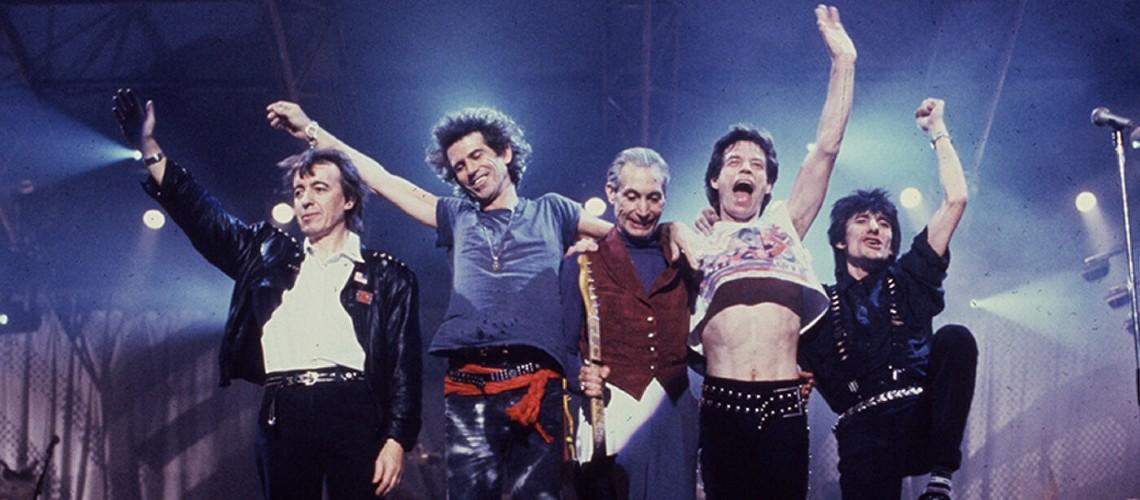 """The Rolling Stones, Edição Luxuosa e Inédita do Concerto """"Steel Wheels Live"""""""