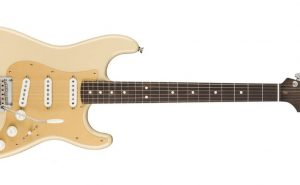american pro strat rosewood front