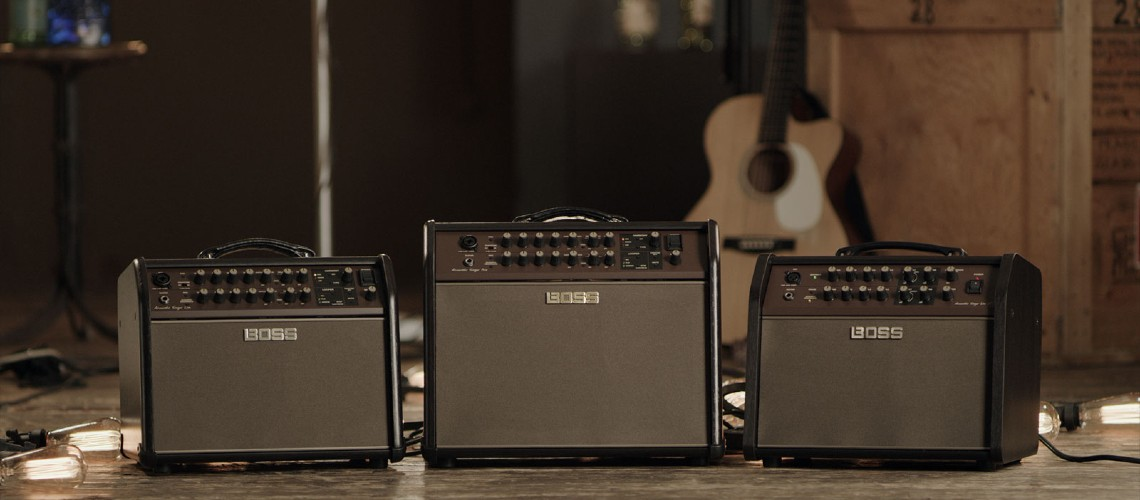 BOSS Acoustic Singer Amps