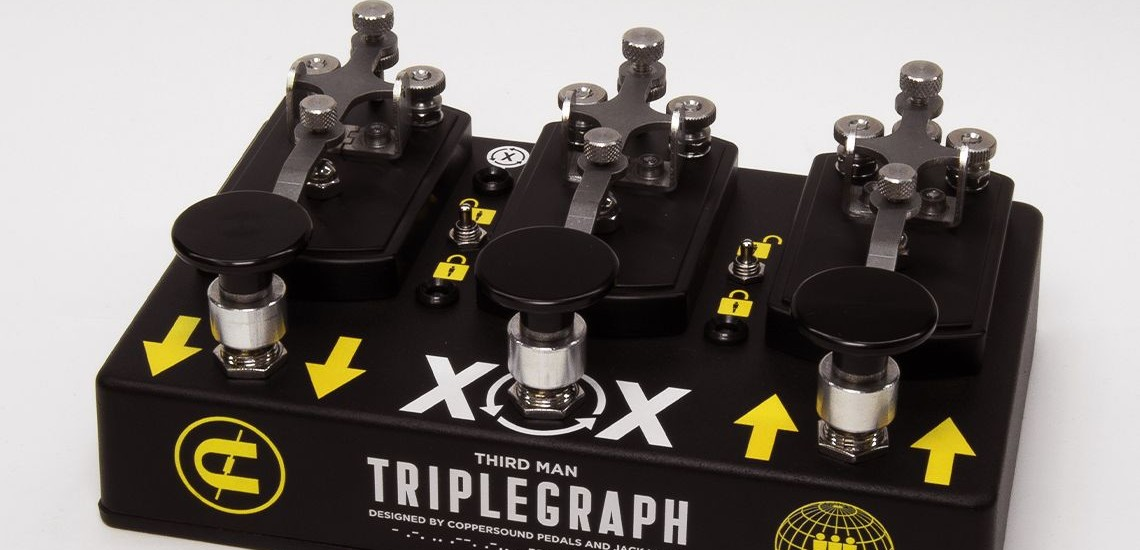 Jack White & CopperSound Pedals Criam o Octave Digital Triplegraph