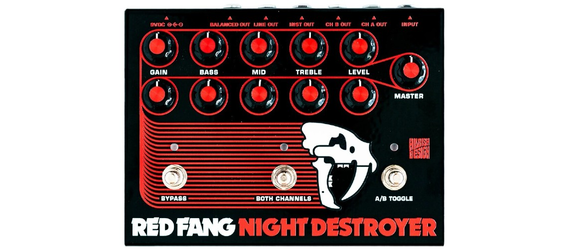 Hilbish Design & Red Fang Recriam Poderoso Circuito Sunn em Pedal