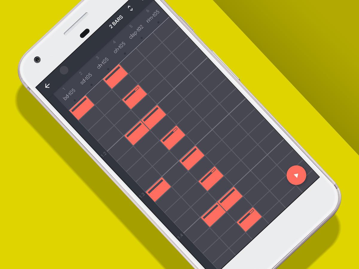 Chegou a Sequence Groovebox para tocar bateria em smartphones Android
