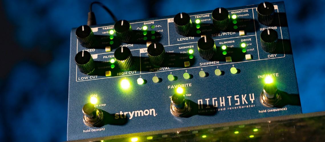 Strymon Apresentou o Engenhoso Reverb NightSky