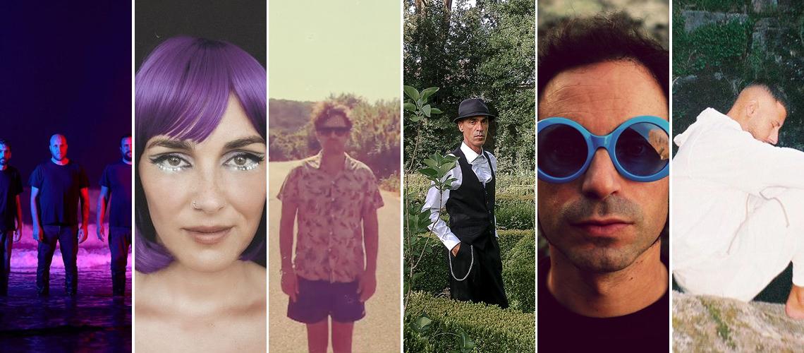 Viriatada de Outubro #3: Paraguaii, Marta Ren, Paulo Gonzo, José Cid, Jorge Benvinda, entre outros