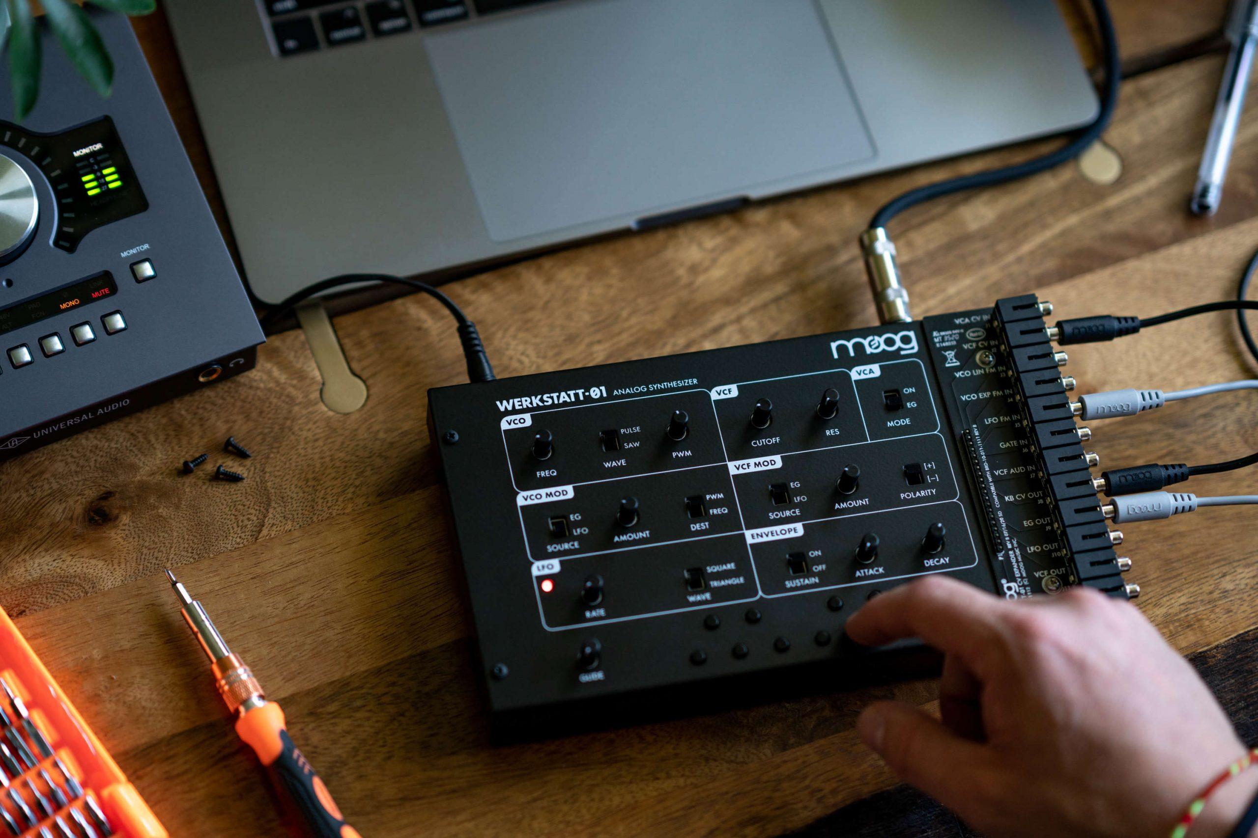 Sintetizador Werkstatt-01 (Moog) De Volta E Mais Acessível Do Que Nunca