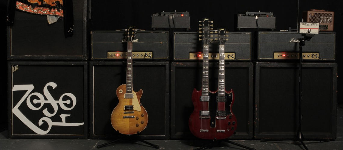 """Todo o Gear de Jimmy Page Reunido em Novo Livro """"A Antologia"""""""