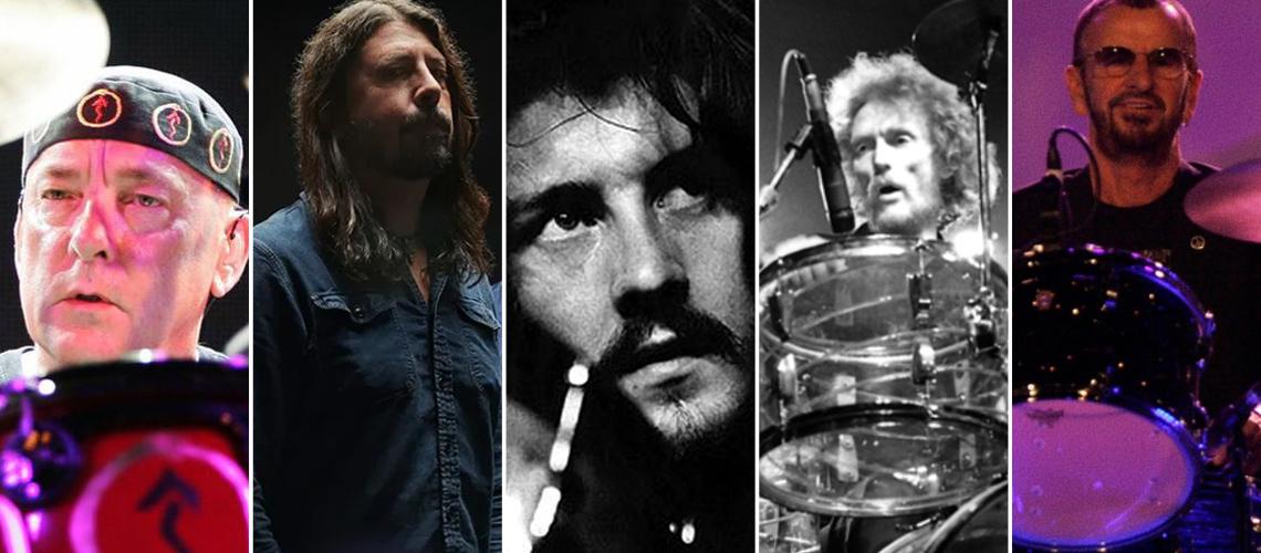 15 Melhores Bateristas de Rock de Sempre (Segundo Leitores do MusicRadar)