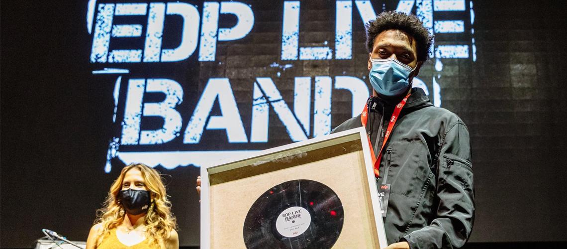 Gui Aly Vence 7ª Edição do EDP Live Bands