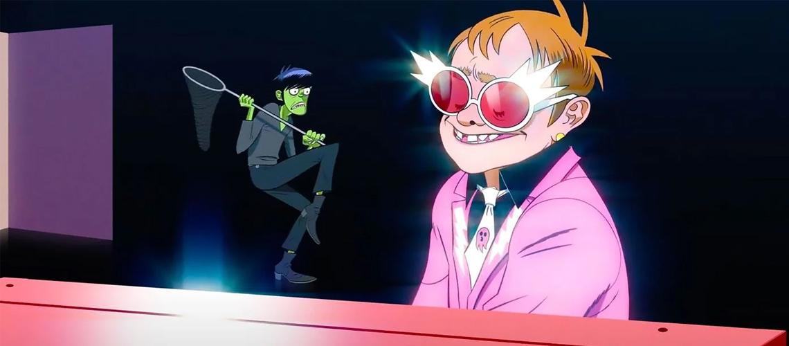 """Song Machine: Season One"" Elton John & 6LACK juntam-se a Gorillaz em ""The Pink Phantom"""