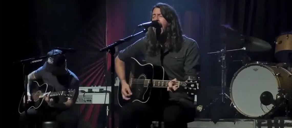Festival #SaveOurStages: Vê e ouve o concerto acústico dos Foo Fighters