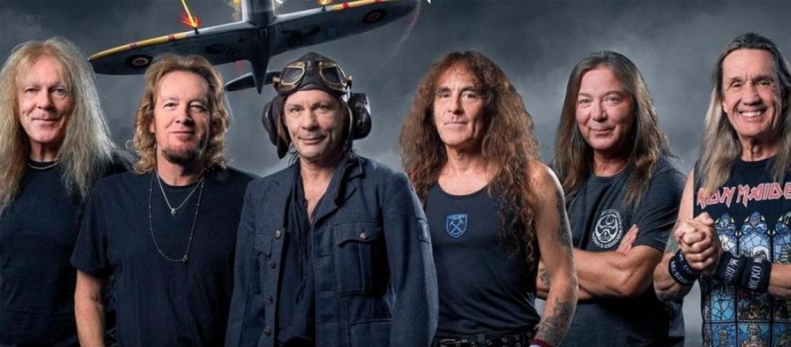 Iron Maiden adiam concerto em Portugal para 2022