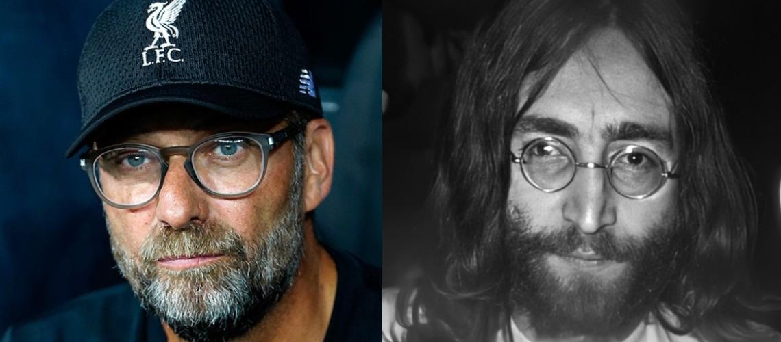 Jürgen Klopp Homenageia John Lennon