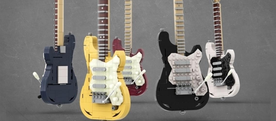 LEGO Desenvolve Fender Stratocaster Baseada Em Ideia De Fã