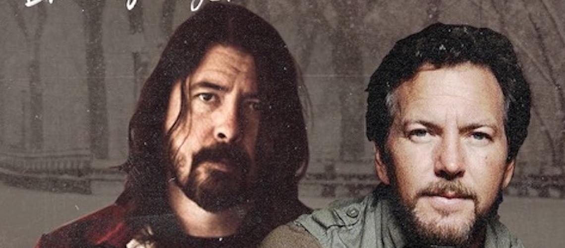 "Dave Grohl e Eddie Vedder à conversa com Bruce Springsteen em ""Letter To You Radio"""