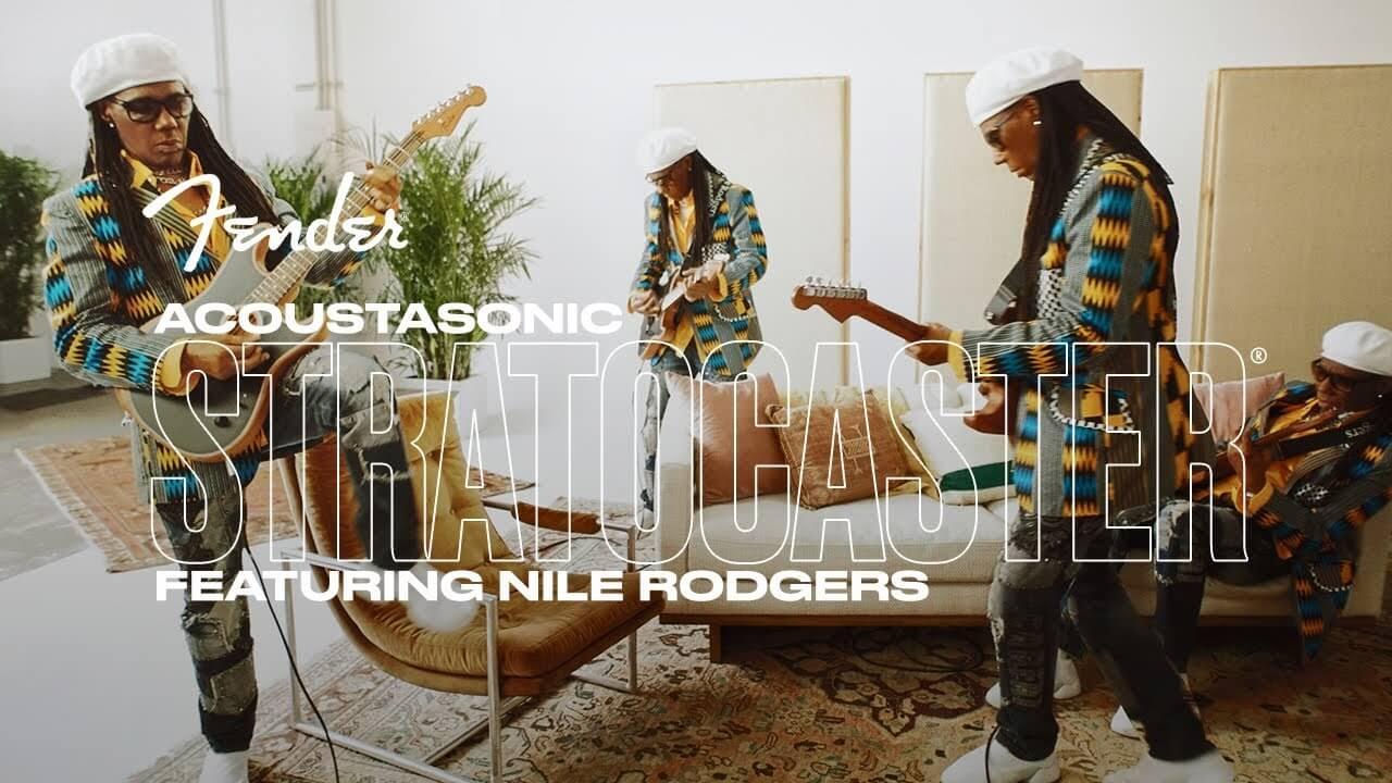 Nile Rodgers & Fender American Acoustasonic Stratocaster