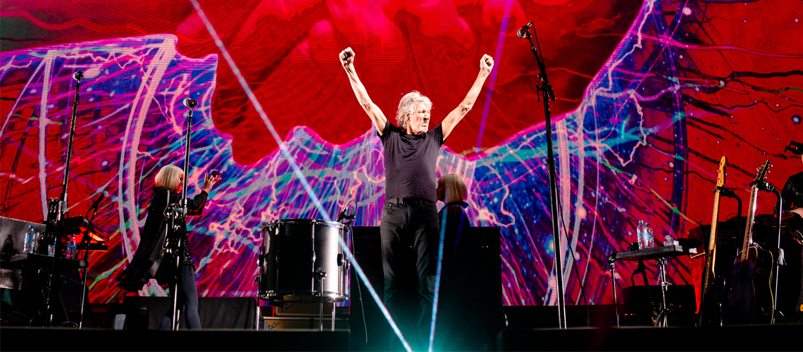 "Roger Waters disponibiliza álbum ao vivo ""Us + Them"" em streaming"
