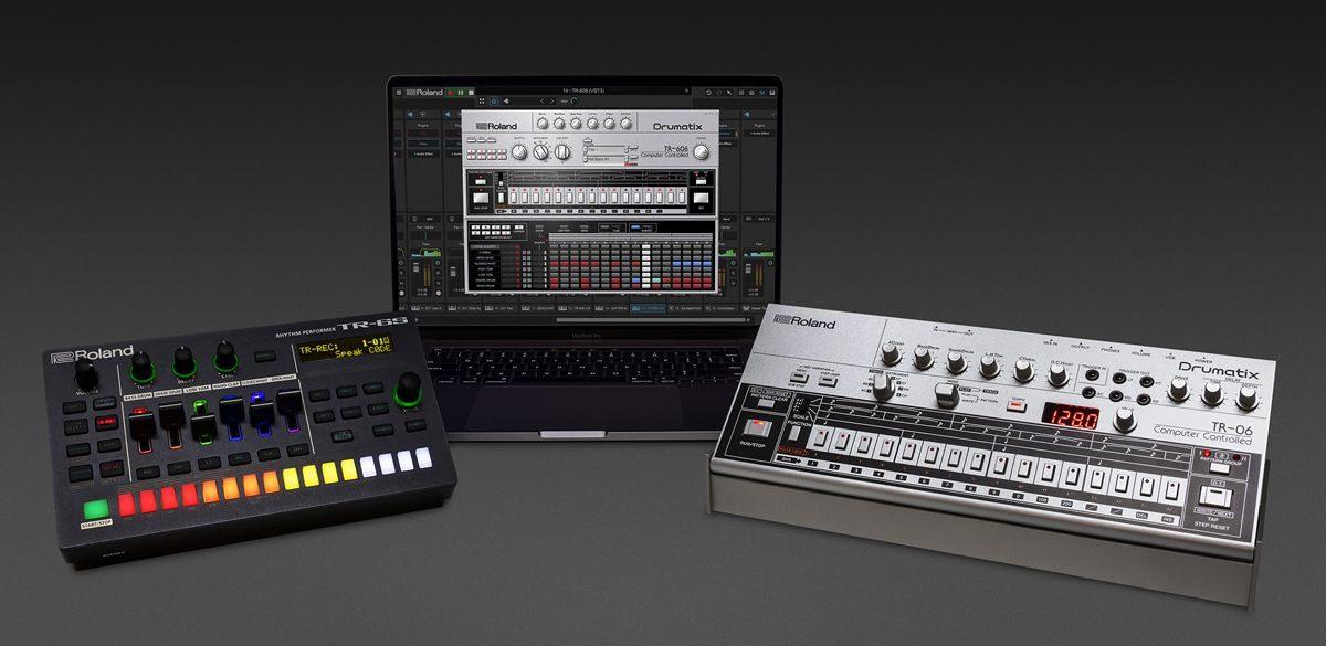 Roland Apresenta Duas Novas Caixas de Ritmo e Um Software De Composição