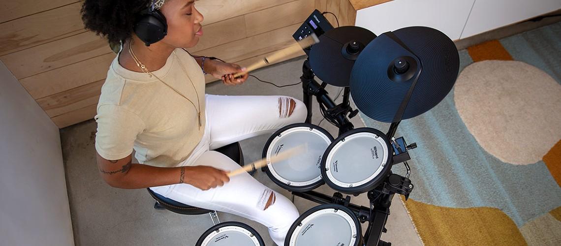 Roland Apresenta Nova TD-07KV V-Drums