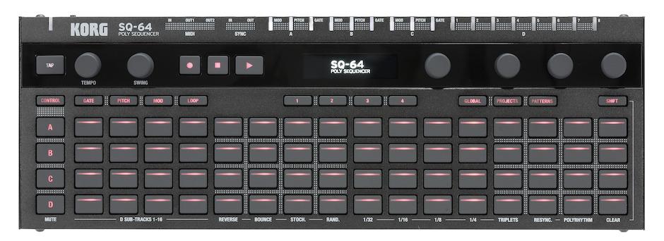 Está Quase A Chegar O SQ-64: O Novo E Poderoso Sequenciador Polifónico Da Korg