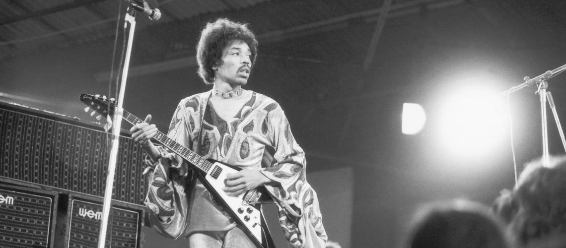 Gibson Homenageia Hendrix com Modelos Flying V e SG de Assinatura