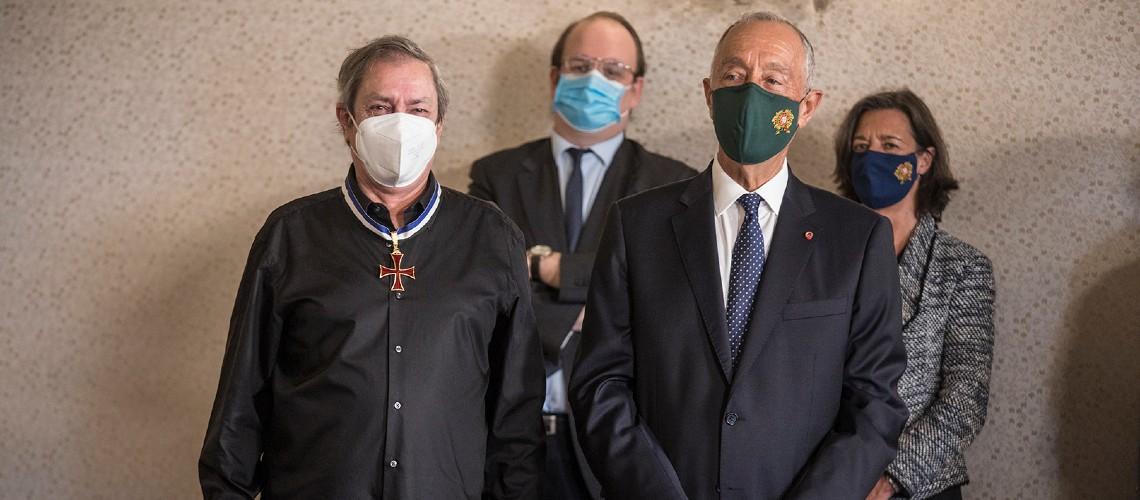 António Variações e Jorge Palma Condecorados Pelo Presidente Da República