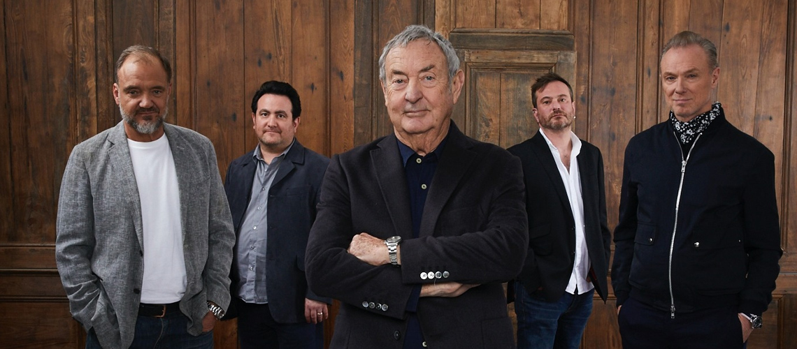 Saucerful of Secrets de Nick Mason dão concerto em Portugal em 2021