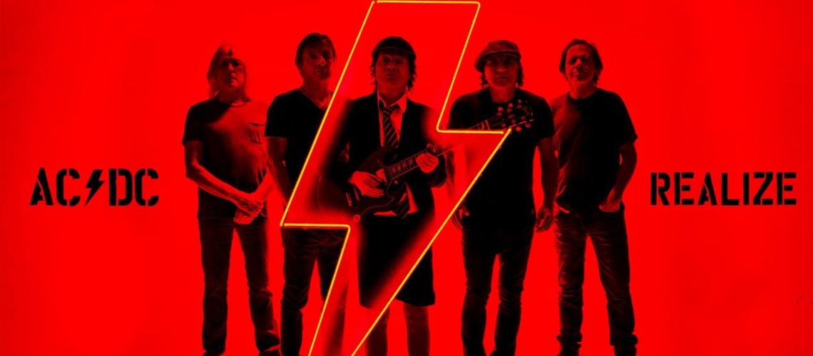 """""""Realize"""" é a nova música dos AC/DC"""