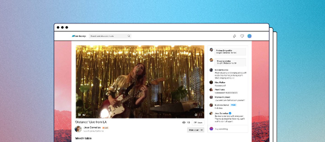 Bandcamp Lança Novo Serviço De Streaming Ao Vivo Para Artistas