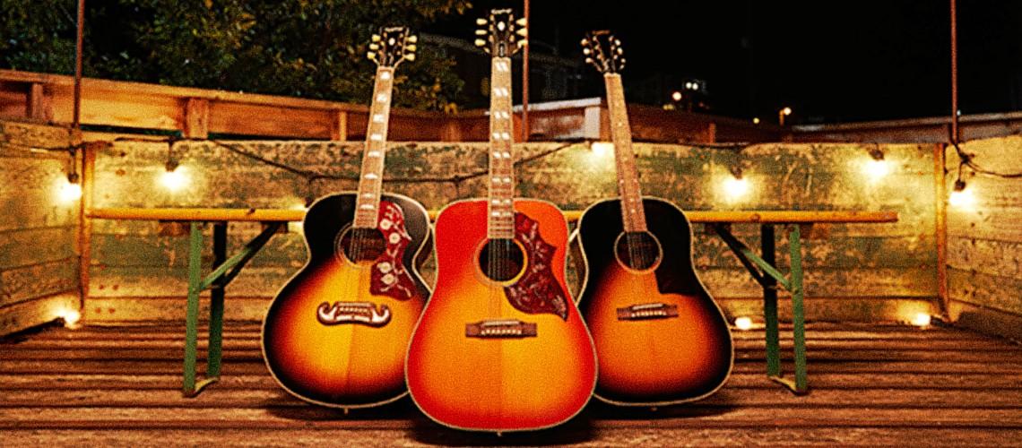 Epiphone Revela Novas Acústicas Inspired By Gibson