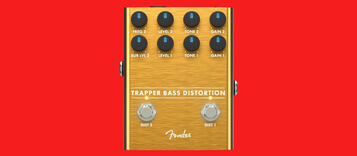 Fender Estreia Pedal de Distorção para Baixo