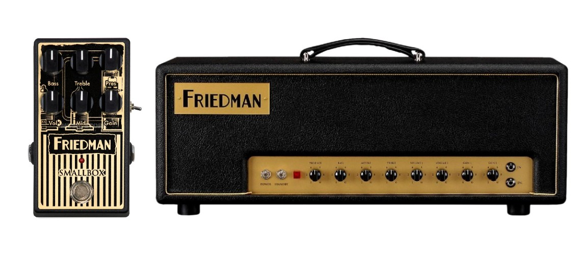 Friedman Amplification, O Small Box Compactado em Pedal