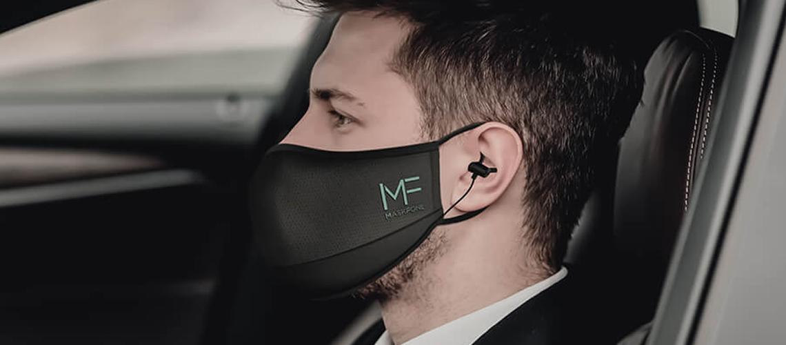 Maskfone: Primeira Máscara Facial Com Microfone E Auriculares Incorporados
