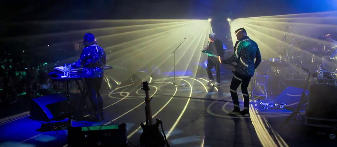 Os New Order vão editar o concerto dado no Alexandra Palace em 2018