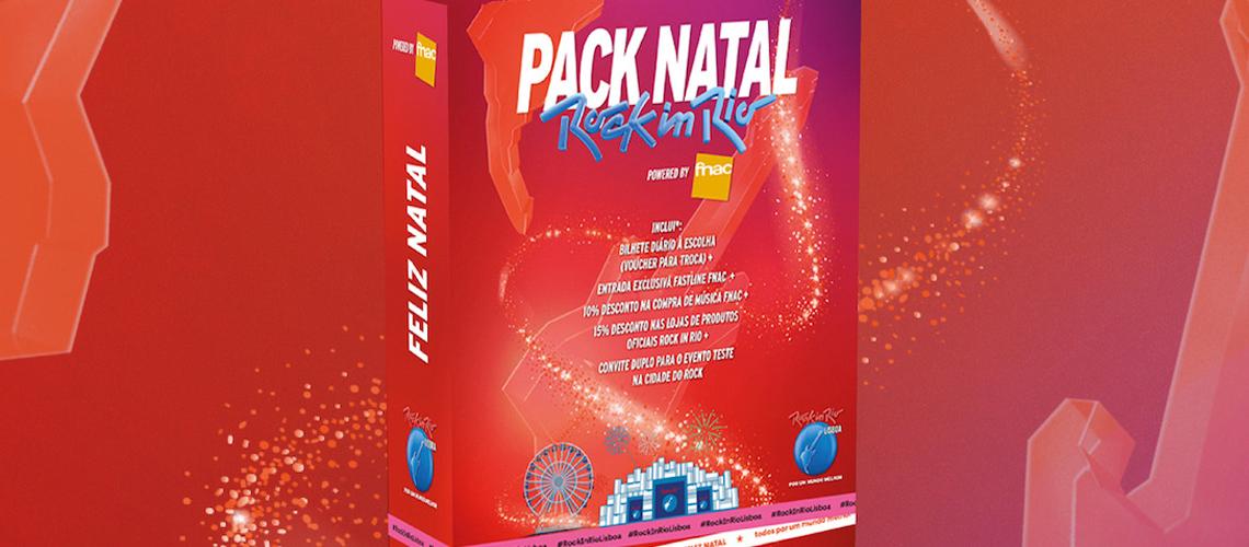 Rock in Rio Lisboa lança Pack de Natal
