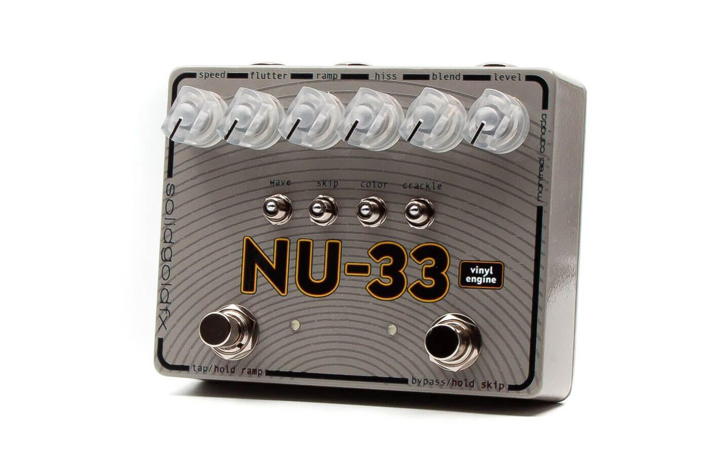 NU-33 da Solid Gold FX Põe A Guitarra A Soar A Vinil