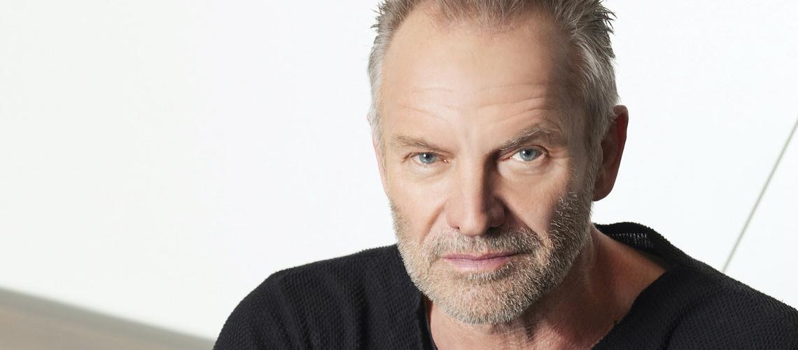 O álbum de duetos de Sting chega este mês