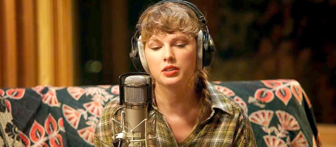"Taylor Swift: ""folklore: long pond studio sessions"" Ao Vivo com Aaron Dessner, Jack Antonoff e Justin Vernon"