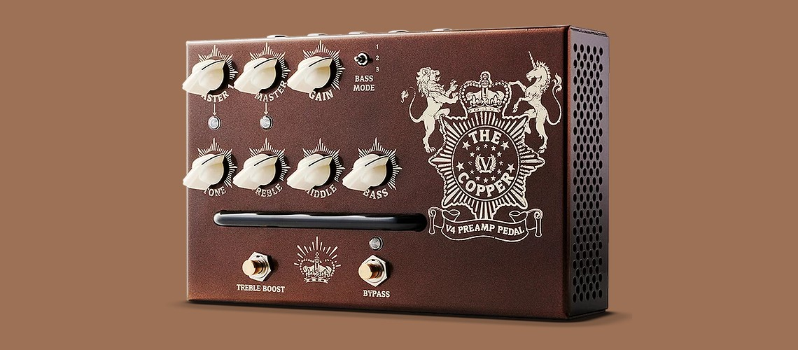 Victory Amps, Novo Pedal Pré-Amp The Copper