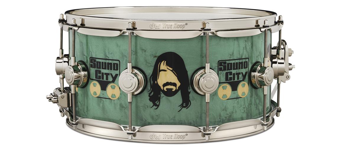 Nova Tarola Dave Grohl Icon da DW Dedicada Ao Estúdio Sound City