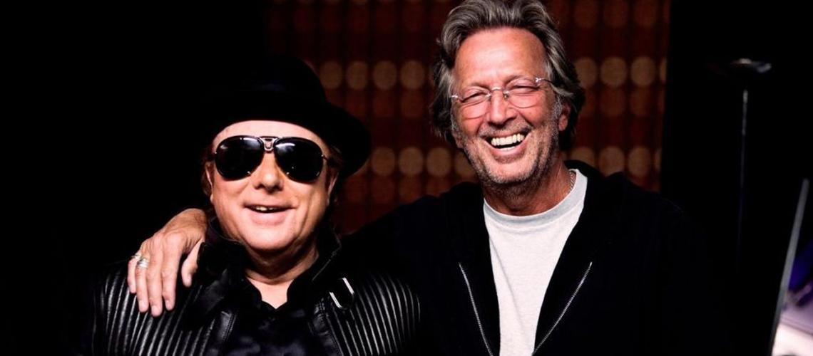 Van Morrison e Eric Clapton, Estreiam Canção Anti-Confinamento