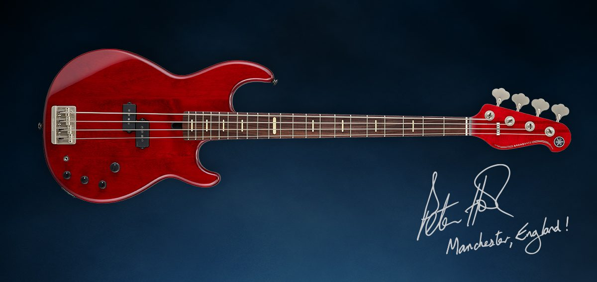 Novo Baixo Yamaha Peter Hook Signature BB